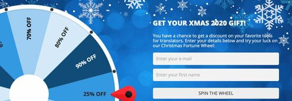 AIT Christmas Fortune Wheel