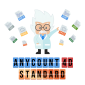Anycount 4D Standard logo