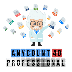 AnyCount 4D Professional Edition logo